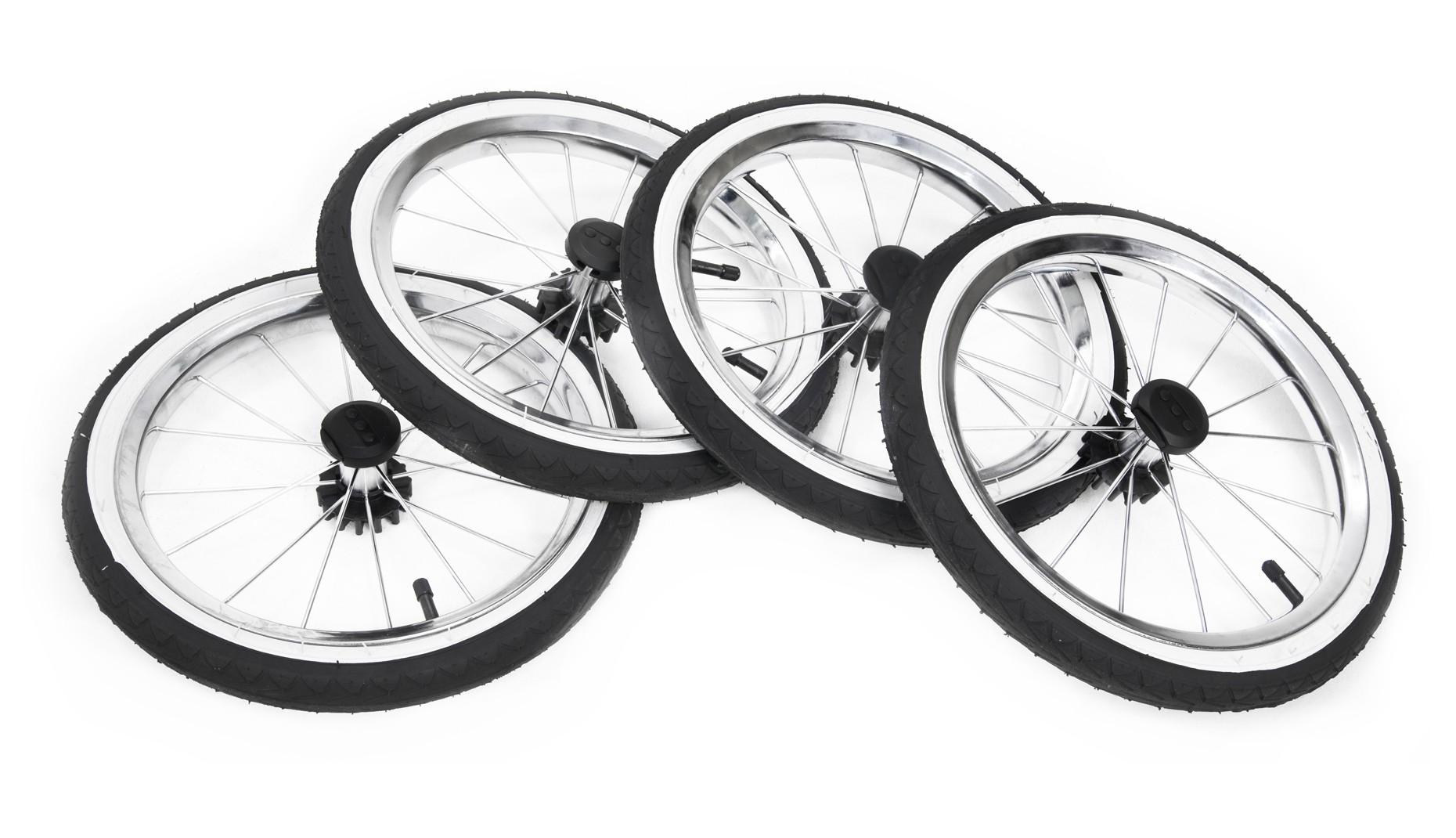 Надувное большое колесо Ø35см (черное с белым кантом) 1шт
