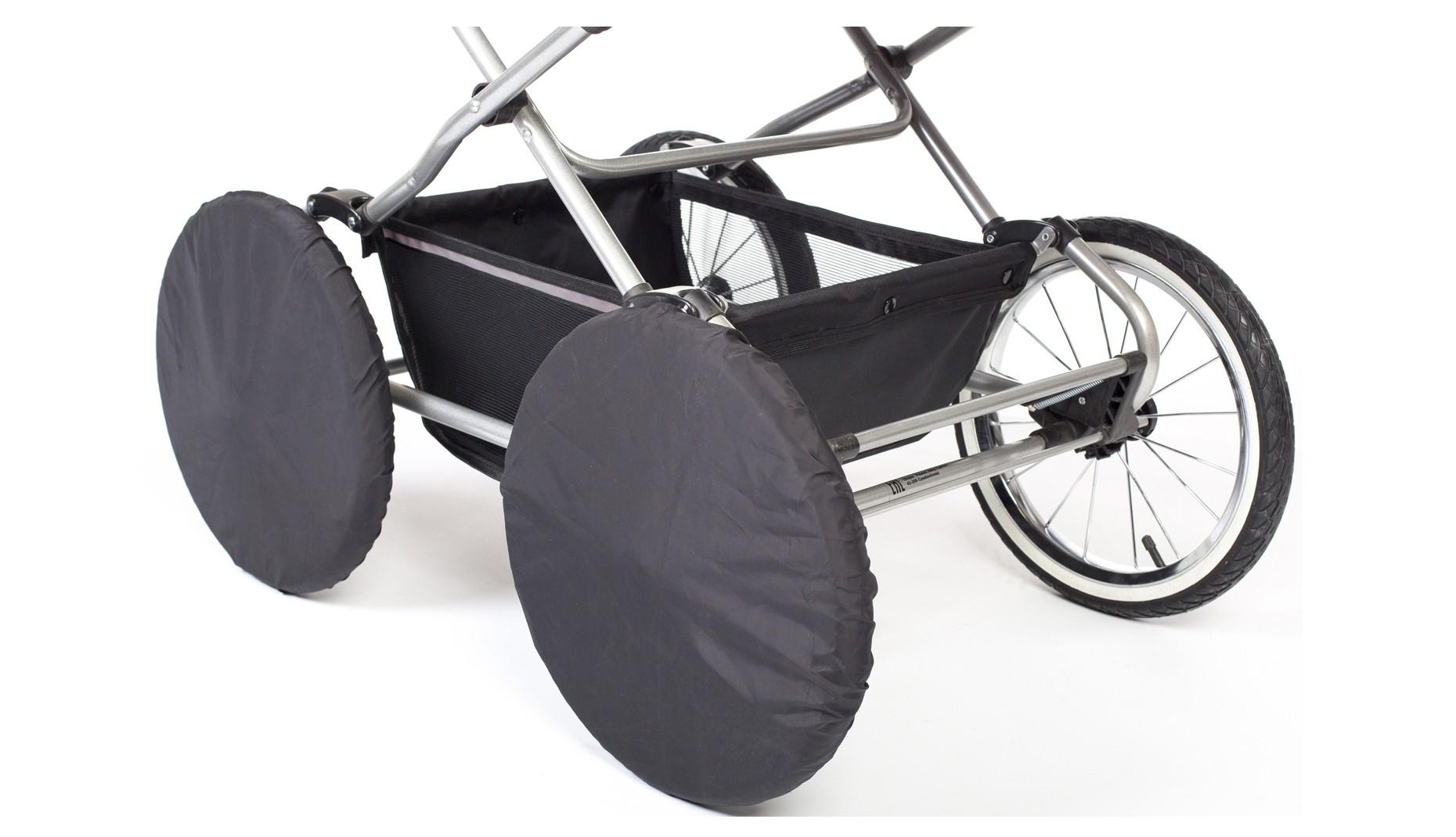 Чехлы на колеса Ø35см  (черные)
