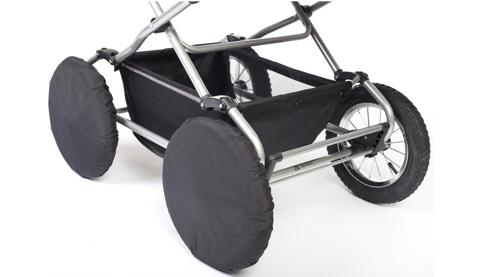 Чехлы на колеса Ø30см  (черные)