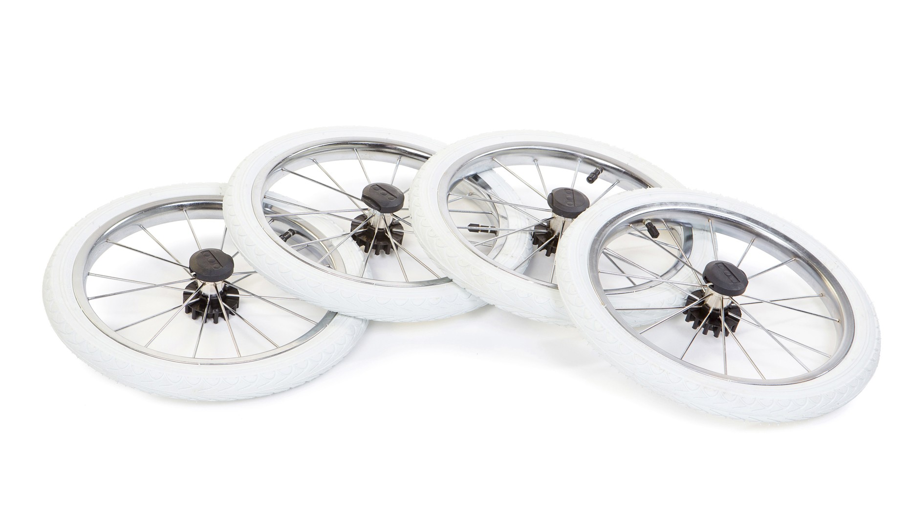 Надувное большое колесо Ø35см (белое) 1шт