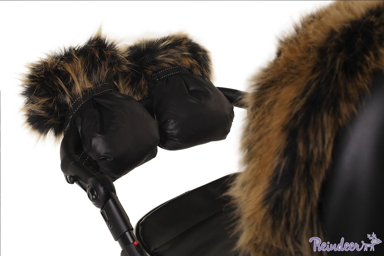 Муфты для рук Reindeer с меховой отделкой
